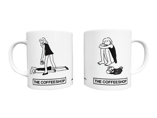 「THE COFFEESHOP × AUTO MOAI 」Collaboration MUG (オートモアイ)