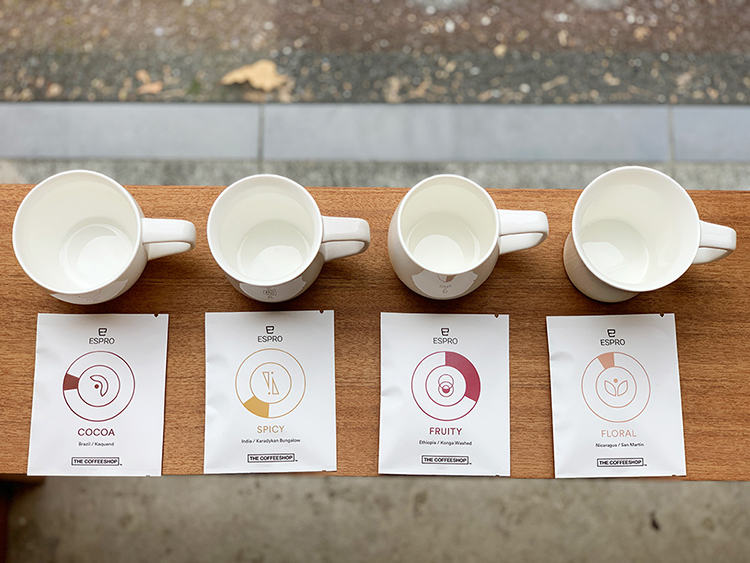 ESPRO Coffee Tasting Cups+DRIPBAG 4種SET [送料無料]