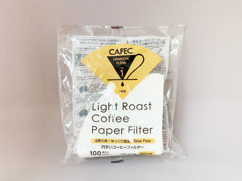 CAFEC Light Roast Coffee Paper Filter